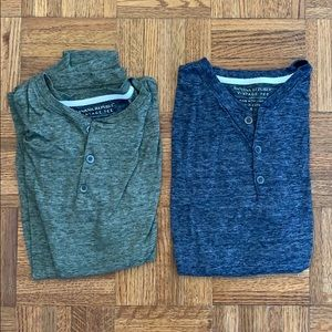 2 for $15! Banana Republic Short-Sleeve Henley Tee
